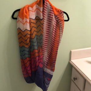 Accessories - Francesscas Multi Colored Infinity Scarf